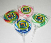 Promotional Swirl Lolly Pops 50mm – WL0504