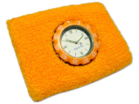 Cotton Sweat Bands with Watch
