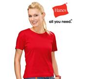Hanes – Ladies T-shirt – AU2110