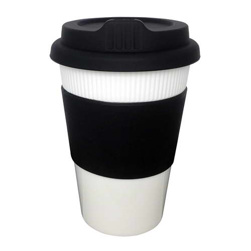 Plastic Cup with Grip 12oz – EK002