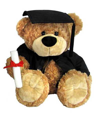 Buddy Graduation Bear – 28cm, 36cm , 58cm