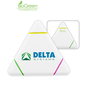 K-212 Bio Green Triangle Highlighter