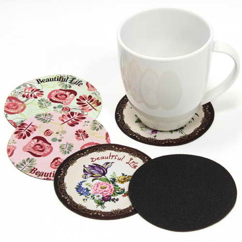 Full Colour Round Coasters 90mm