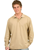 WS – Long Sleeve Mens Polo – PS35