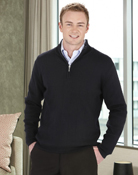 BIZ – Mens Zip Pullover – WP10310