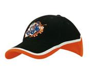 Tri-Coloured Cap – 4026