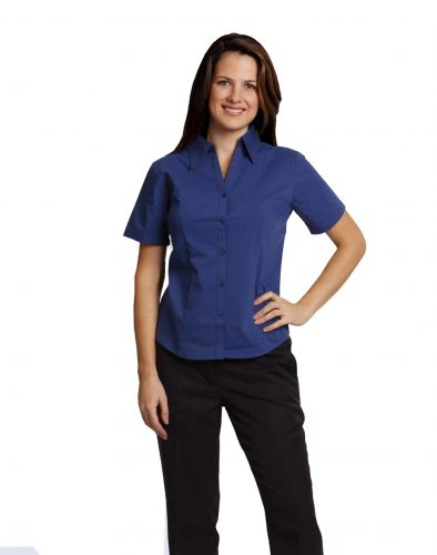 BS07S – Ladies S/S Executive Shirt