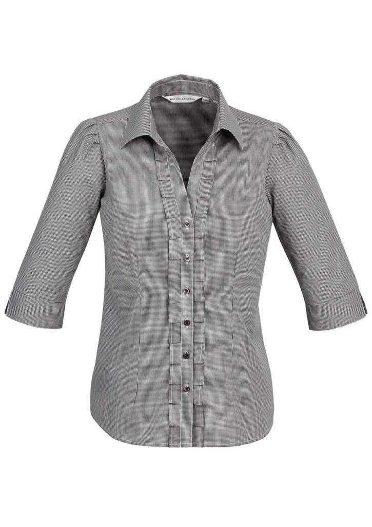 Biz – Ladies 3/4 Edge Shirt – S267LT