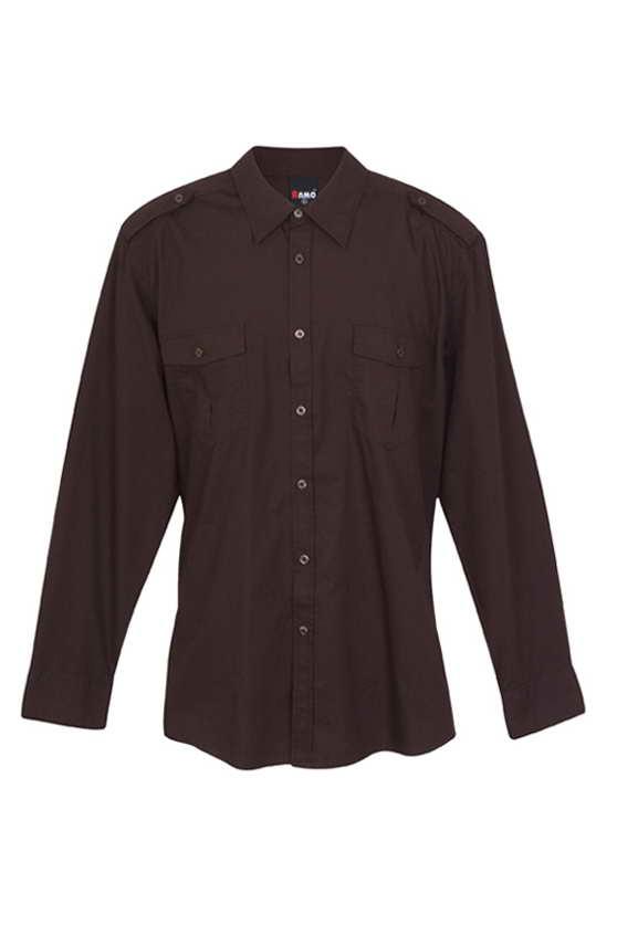 RAMO – Mens S/S Military Shirt – S001ML