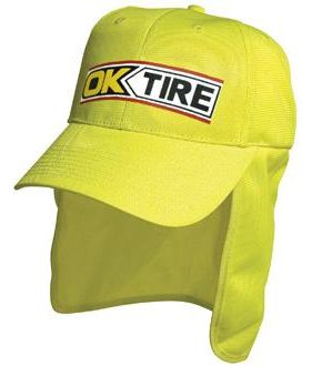 Luminescent Safety Cap with Flap – 3023