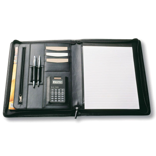 A4 Zippered Compendium – 9012