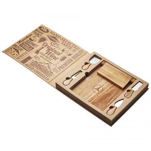 St. Andrews Magnetic CheeseBoard And Knife Set – D388