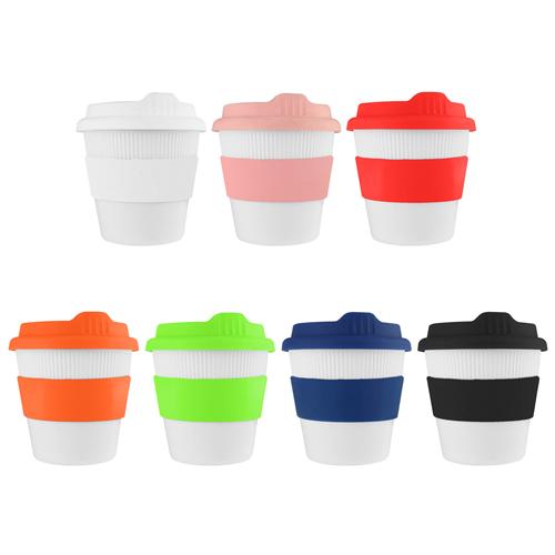 Plastic Cup with Grip 8oz – EK001