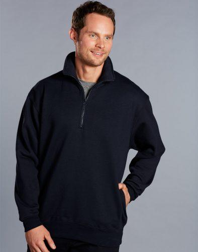 Mens Falcon Fleece Sweat Half Zip Top – FL02