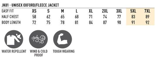 Unisex Stadium Jacket - JK01