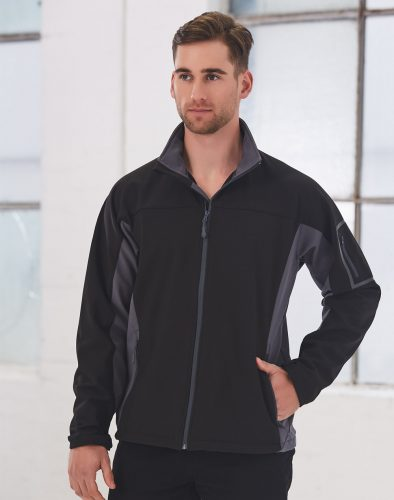 Mens Whistler Softshell Contrast Jacket – JK31