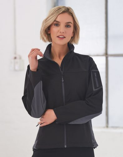 Ladies Whistler Softshell Contrast Jacket – JK32