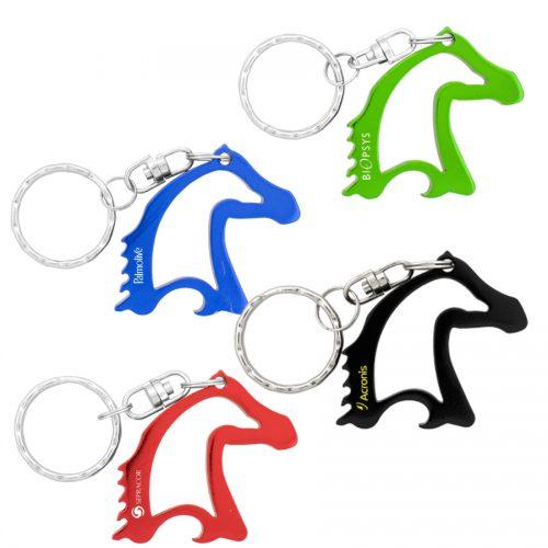 K199 – Horse Head Bottle Opener Keyring