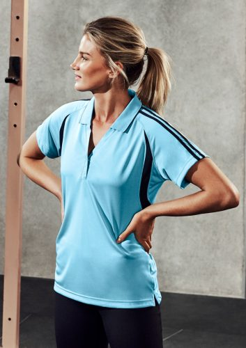 Biz – Ladies Flash Polo – P3025