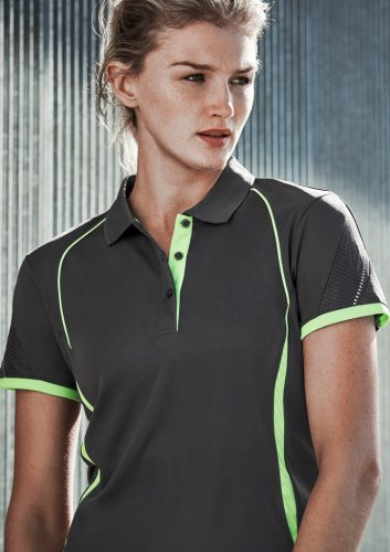 Biz – Ladies Razor Polo – P405LS