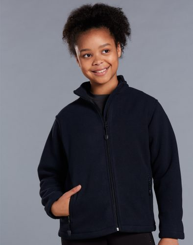 Kids Frost Polo Fleece Jumper- PF07K
