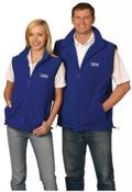WS – Unisex Polar Fleece Vest – PF02