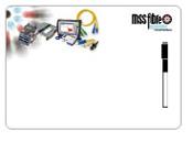 A3 Fridge Magnet Whiteboard – WB3