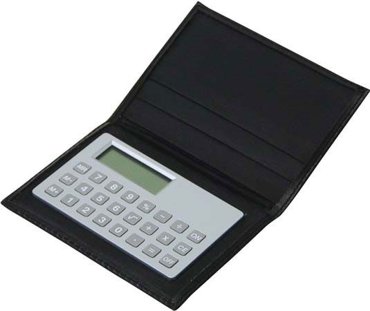 Calculator Business Card Holder – G513