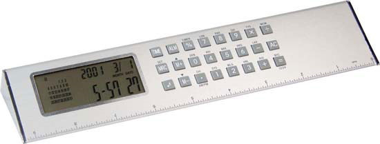 Pyramid World Clock Ruler – G1076