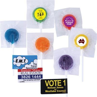 Promotional Logo Lollipops – LL555