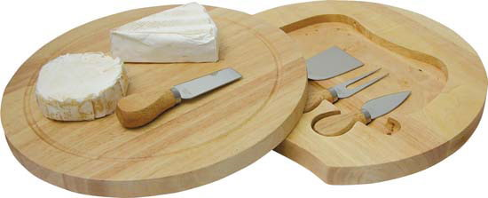 SWIVEL CHEESE BOARD SET – G548