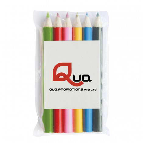 Z603-6 – 6 COLOURED PENCILS IN POUCH