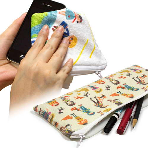 PKO1020 – Microfiber Toweling Pencil Case
