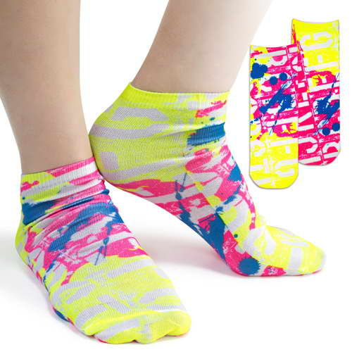 Ankle Fluorescent Tube Socks – PK42005