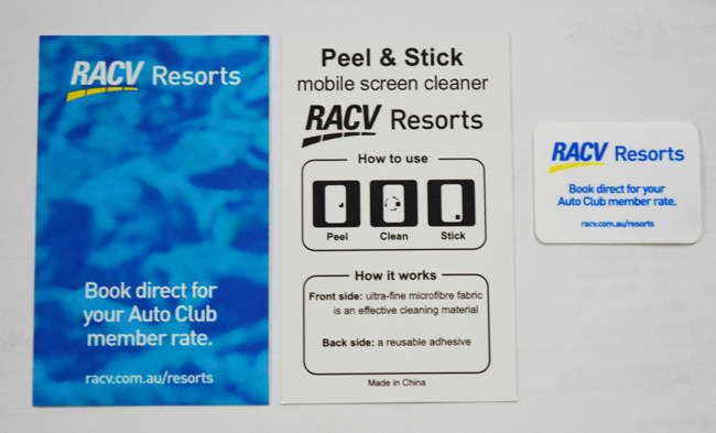 Screen Cleaner on Backing Card – PK16015C