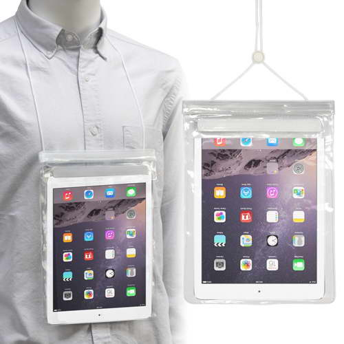 Tablet Waterproof Pouch With Neck Cord – PK16041