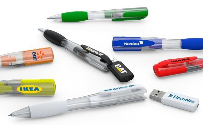 Plastic Pen USB – 23