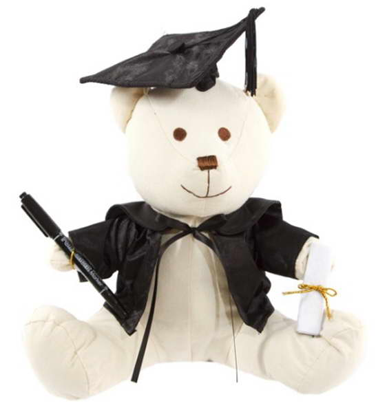 Graduation Signature Bear – 25cm