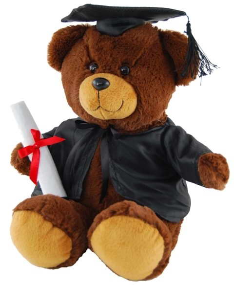 Graduation Bear – 20cm, 26cm