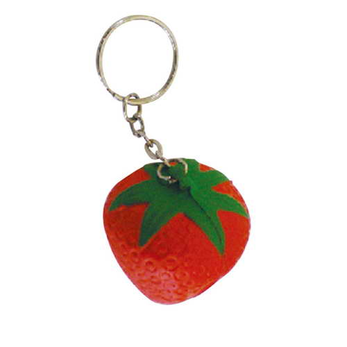 SKR000 – STRESS STRAWBERRY KEY RING