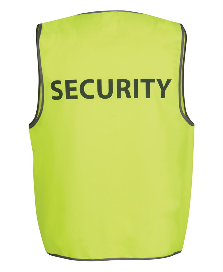 Hi Vis Safety Vest SECURITY – JB6HVS5