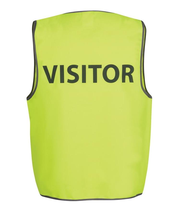 Hi Vis Safety Vest VISITOR – JB6HVS7