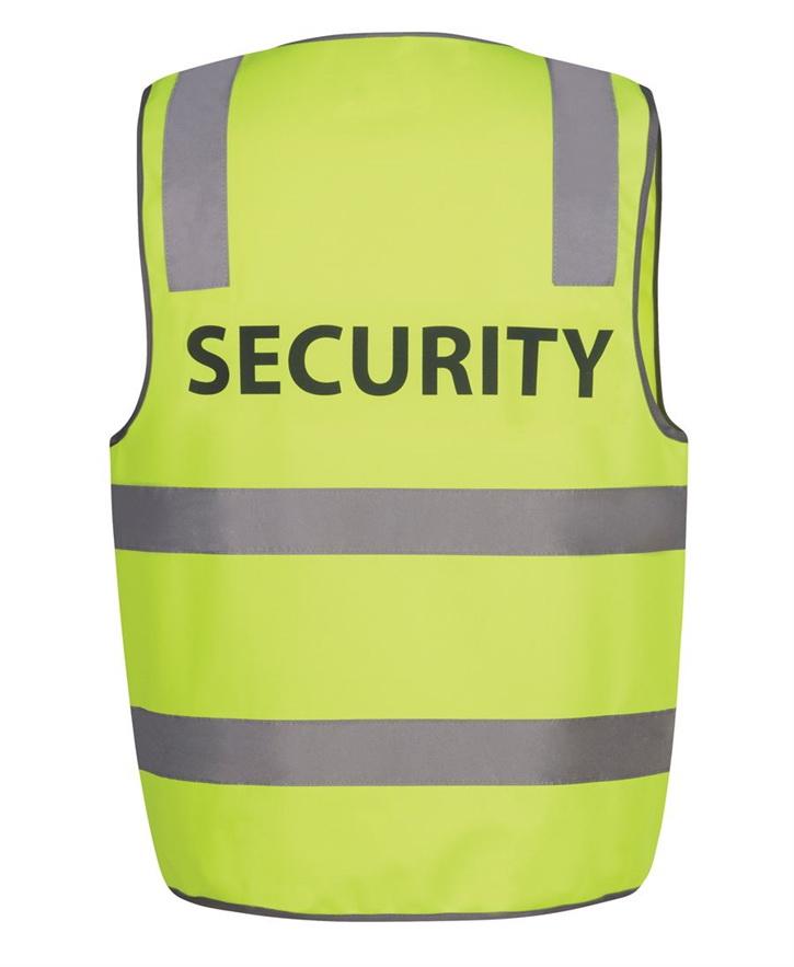 Hi Vis D+N Safety Vest SECURITY – JB6DNS5