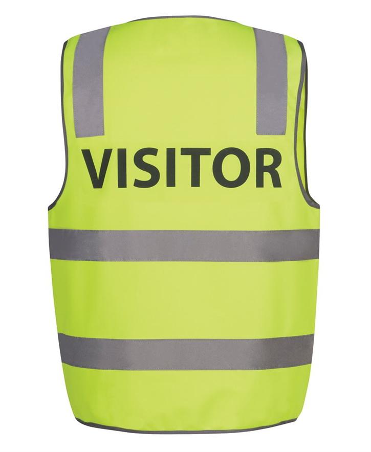 Hi Vis D+N Safety Vest VISITOR – JB6DNS7