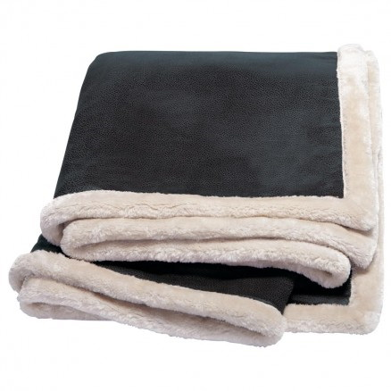 KANATA FAUX LEATHER THROW – K25
