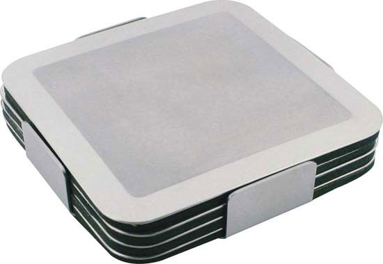 Prestige Stainless Steel Coaster Set – G725