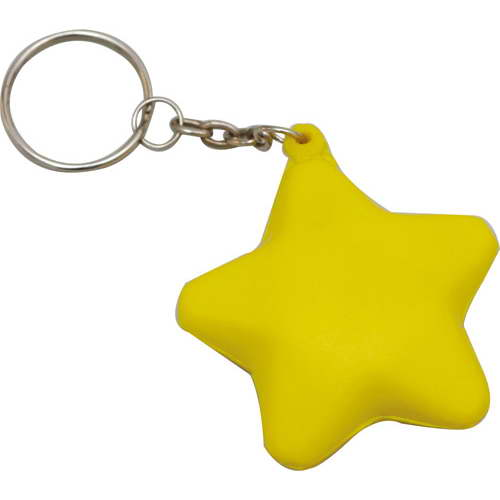 STRESS STAR KEYRING