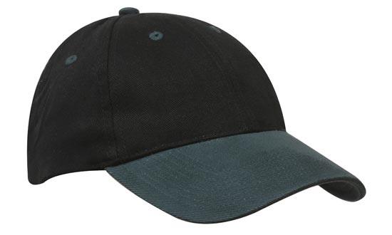Brushed Heavy Cotton Cap – 4199