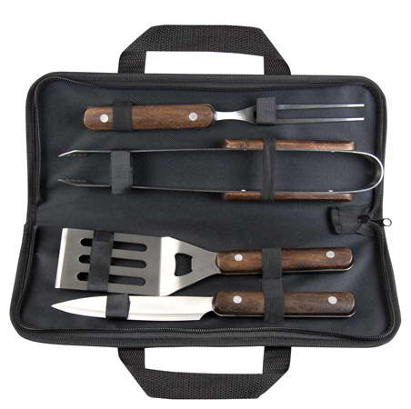 Promotional Wooden BBQ Set – G1213