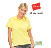 Hanes Ladies Polo Shirt – AU3100